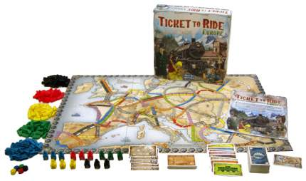 Настольные ролевые игры Hobby World Ticket to Ride Европа 31458