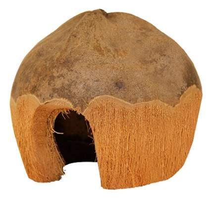 Домик для грызуна Triol кокос, 10х13х13см, цвет коричневый