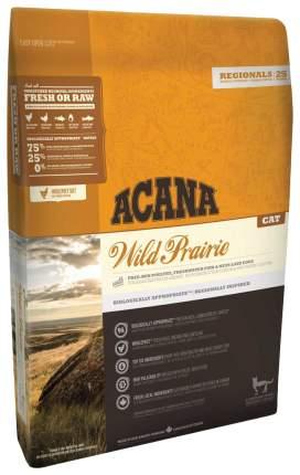 Сухой корм для кошек ACANA Regionals Wild Prairie, индейка, цыпленок, рыба, 1,8кг