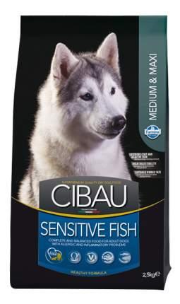 Сухой корм для собак Farmina Cibau Medium & Maxi Sensitive, рыба, рис, 2,5кг