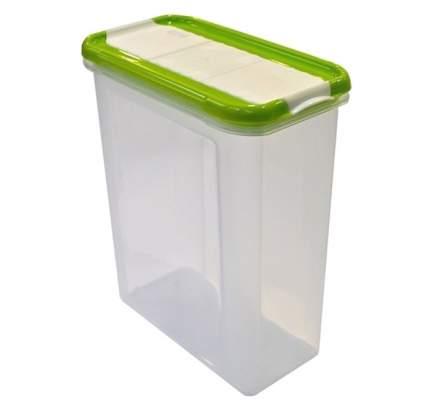 Банка для сыпучих продуктов Giaretti Krupa 1.5л оливковый (GR2237ОЛ)