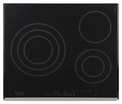 Встраиваемая варочная панель электрическая Hotpoint-Ariston KRO 632 TD Z Black