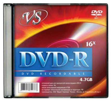 Диск VS VSDVDRSL01