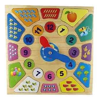 Деревянная игрушка для малышей Деревянные Пазлы Учимся Считать