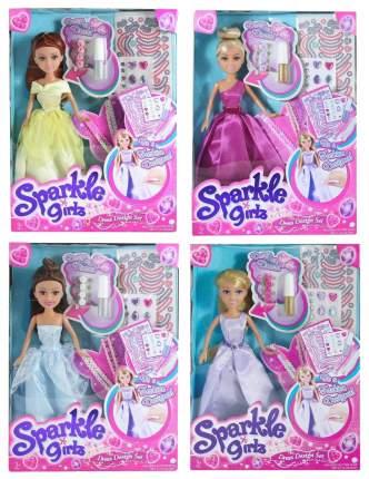 Кукла Funville Sparkle Girlz в наборе с аксессуарами для украшения платья