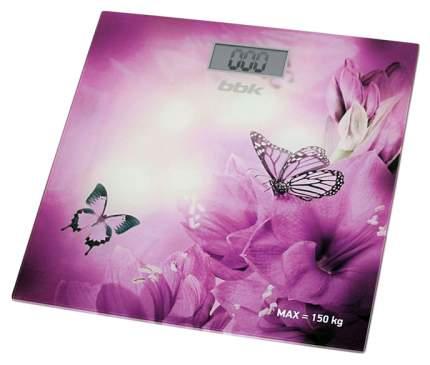 Весы напольные BBK BCS3000G фиолетовые
