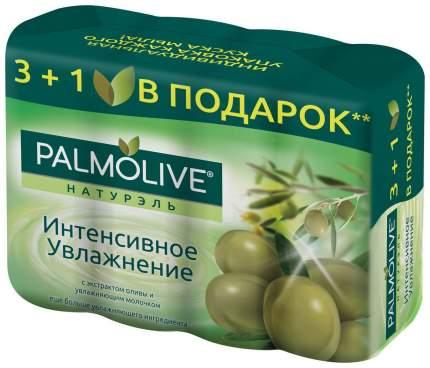 Косметическое мыло Palmolive Натурэль Интенсивное увлажнение с экстрактом оливы 4x90 г