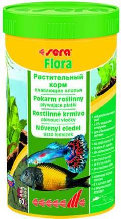 Корм для рыб Sera Flora, растительный, хлопья, 250 мл