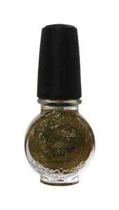 Закрепитель лака для ногтей KONAD Top Coat Glitter Gold 11 мл