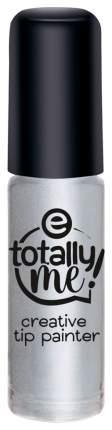 Лак для ногтей essence Totally Me! Creative Tip Painter 02 Totally Silver 4 мл
