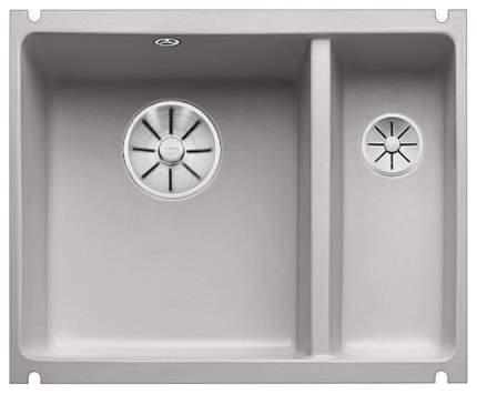 Мойка для кухни керамическая Blanco SUBLINE 350/150-U 514528 серый алюминий