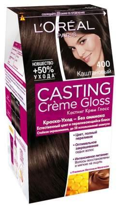 "Краска для волос L'Oréal Paris Casting Creme Gloss ""Каштан"" A5774227, тон 400, 254 мг"