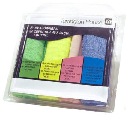 Тряпка для уборки Tarrington House Микрофибра 4 шт