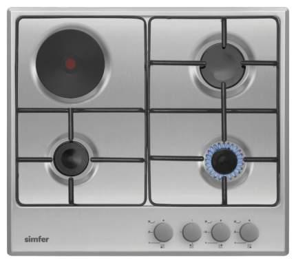 Встраиваемая варочная панель комбинированная Simfer H60V31M411 Silver