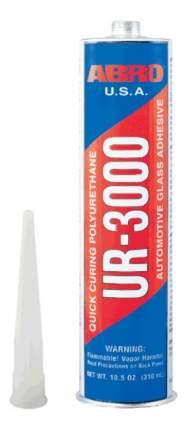 Герметик для автостекол уретановый ABRO, 300 мл