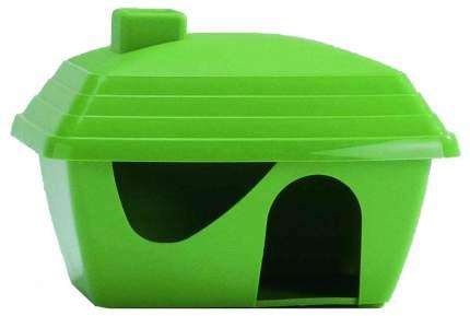 Домик для грызуна Beeztees пластик, 10.5х11.5х15.5см, цвет в ассортименте