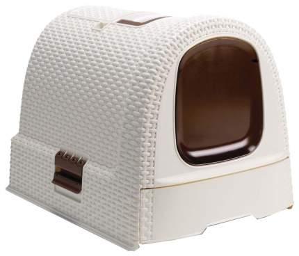 Лоток для кошек Curver PetLife 40x39x51 кремовый