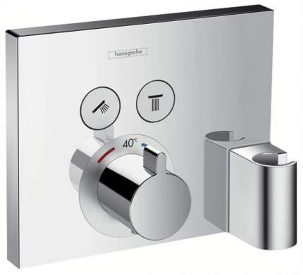 Смеситель для встраиваемой системы Hansgrohe Ecostat Select 15765000 хром