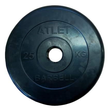 Диск для штанги MB Barbell Atlet 25 кг, 51 мм