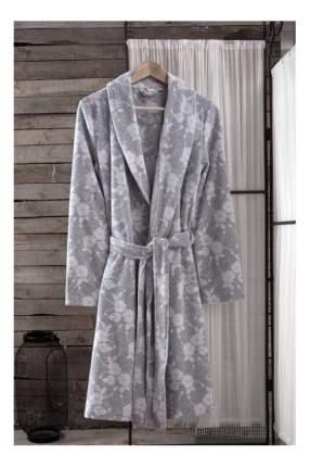 Халат банный Arya Paula светло-серый (L)