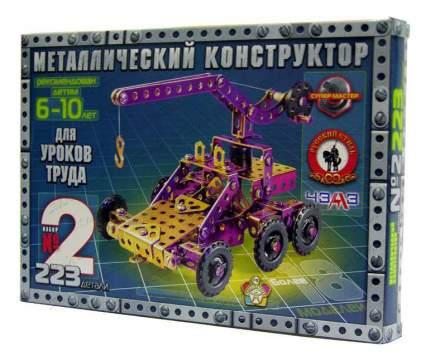 Конструктор металлический Русский стиль №2 223 детали