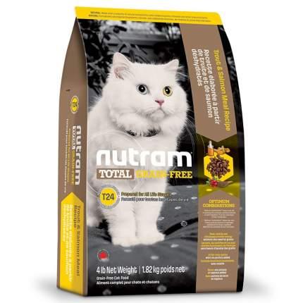 Сухой корм для кошек и котят Nutram TOTAL Grain Free, лосось, рыба, 1,8кг