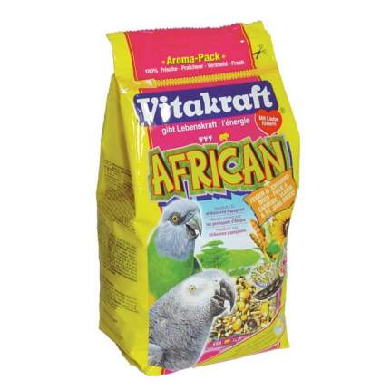 Основной корм Vitakraft для попугаев 750 г, 1 шт