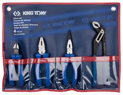 Набор шарнирно-губцевого инструмента KING TONY 42104GP01