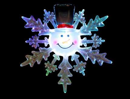 Светильник новогодний Snowhouse Снеговик 13 см