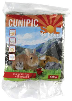 Сено для грызунов Cunipic SOL с шиповником 0.5 кг 1 шт
