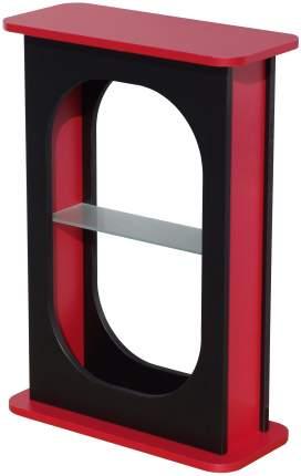 Тумба для аквариума Aquatlantis Aquafashion, ДСП, черная, красная, 55 x 80 x 24 см