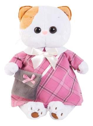 Мягкая игрушка BUDI BASA Ли Ли в Розовом Платье с Серой Сумочкой Lk24 007