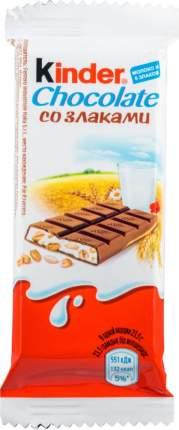 Шоколад молочный Kinder со злаками 24 г