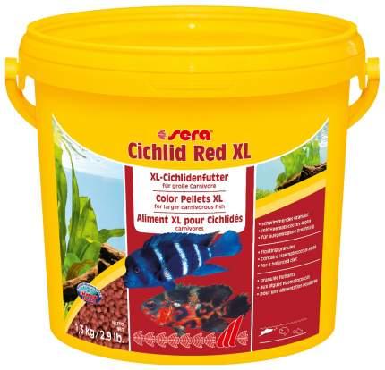 Корм для рыб Sera CICHLID RED XL, гранулы, 3,8 л