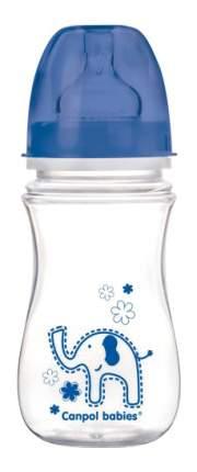 Детская бутылочка Canpol babies EasyStart 240 мл синий