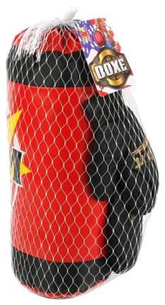 Набор для бокса Shantou Gepai Вoom груша и перчатки в сетке 1615731