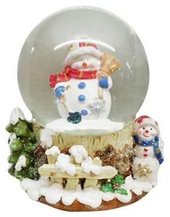 Снежный шар Новогодняя сказка Снеговик 973001