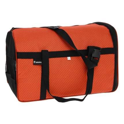 Переноска Гамма 36x36x23см 15134 оранжевый