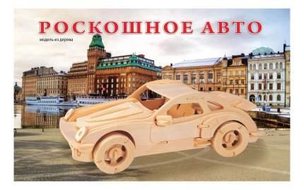 Сборная модель легковой автомобиль Роскошное авто Рыжий кот