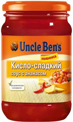 Овощной соус Uncle Ben's кисло-сладкий с ананасом 210 г