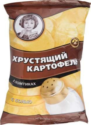 Картофельные чипсы Хрустящий картофель в ломтиках с солью 70 г