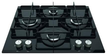 Встраиваемая варочная панель газовая Hotpoint-Ariston TQG 642 /HA (BK) RU Black