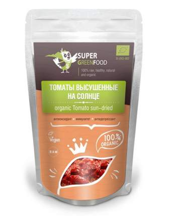 Томаты Super Green Food высушенные на солнце 100 г