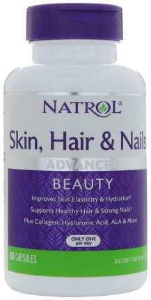 Витаминно-минеральный комплекс Natrol Skin Hair Nails 60 капс.