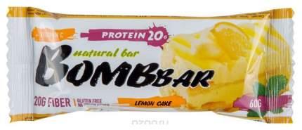 Протеиновый батончик Bombbar Protein Bar 60 г лимонный торт
