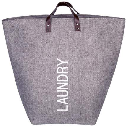 Сумка для белья Kuchenland Home Laundry Серая