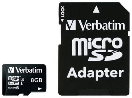 Карта памяти Verbatim Micro SDHC 44081 8GB