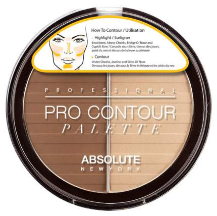 Корректор для лица Absolute New York Pro Contour Palette 01 Light