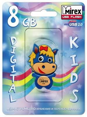 USB-флешка MIREX Horse 8GB Blue (13600-KIDBHS07)