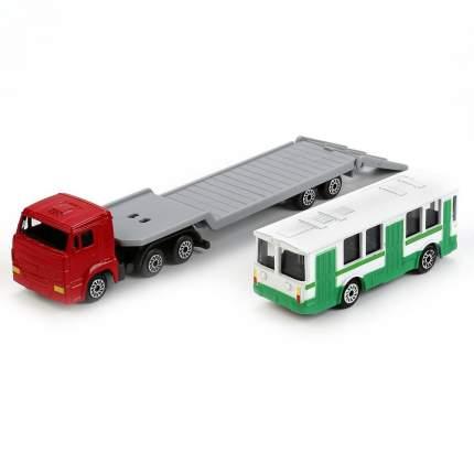 Автовоз инерционный Технопарк камаз 1:72 разноцветный sb-15-04-blс
